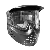 GXG X-VSN Paintball Goggles Black