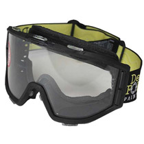 JT Delta Force Elite AirSoft Goggle Single Lens Black