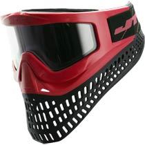 JT Proflex X Paintball Mask Red