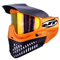 JT Proflex LE Thermal Paintball Goggles Brimstone Orange Black