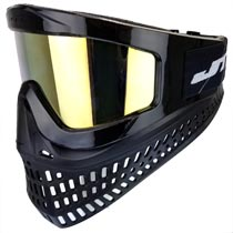 JT Proflex X Thermal Paintball Goggles Black w Gold Prizm Lens
