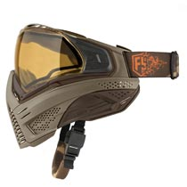 First Strike Push Unite Thermal Paintball Goggles Tan Brown