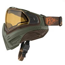 First Strike Push Unite Thermal Paintball Goggles Olive Brown