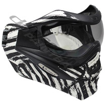 VForce Grill LTD Paintball Goggles White Zebra