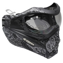 VForce Grill LTD Paintball Goggles Charcoal Zombie