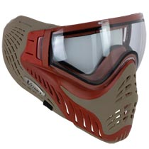 VForce Profiler Paintball Mask Thermal Red Tan