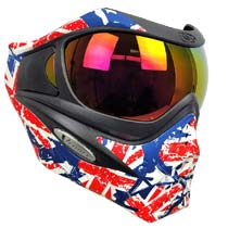 VForce Grill Paintball Mask SE Thermal Union Jack w HDR Lens