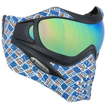 VForce Grill SE Inca Paintball Mask w HDR and Clear Lens