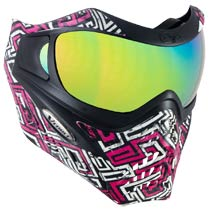 VForce Grill SE Street Magenta Thermal Paintball Mask
