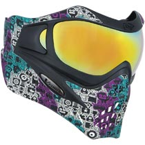 VForce Grill SE Robowave Paintball Mask w HDR and Clear Lens