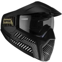 Base GS-O Paintball Mask Thermal Lens Black