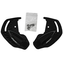 Dye I4 Ear Pieces Black/Gray