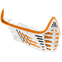 Virtue VIO Facemask Orange Orange White