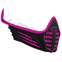 Virtue VIO Facemask Pink Pink Black