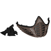 Virtue VIO Facemask Black Black FDE