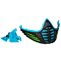 Virtue VIO Facemask Cyan Lime Black