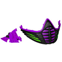 Virtue VIO Facemask Purple Lime Black