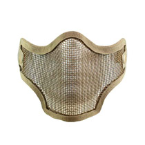 Valken Tactical 2G Wire Mesh Airsoft Mask Tan