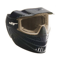 JT Raptor Elite Single Lens Paintball Goggle Black / Tan Refurbished