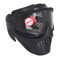 JT Guardian Paintball Mask Black - Bulk Package