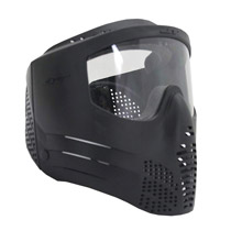JT Guardian ll Paintball Mask Black - Bulk Package