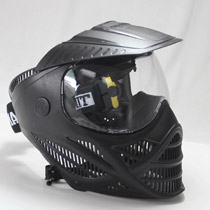 Tippmann Valor Paintball Mask Single Lens Black *Refurbished*