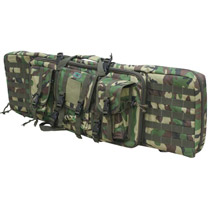 GXG Deluxe Tactical Gun Case Woodland