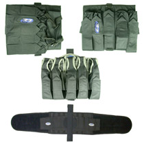 32D Paintball Harness 3 Pack Combo #1