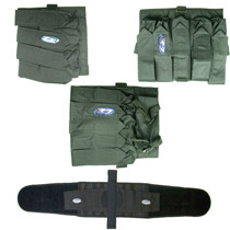 32D Paintball Harness 3 Pack Combo #4