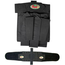 Redz / 32D Paintball Harness 3+2 1 Left Black with Belt