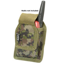 BT 08 Paintball Radio Pouch Molle Woodland Digital Camo