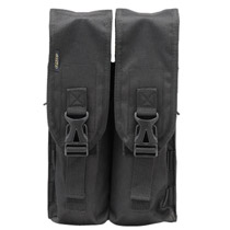 Dye Locking Paintball Pod Pouch Double - Black