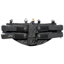 GXG Horizontal 4+1 Paintball Harness Black