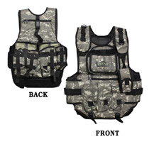 GXG Tactical Paintball Vest ACU Camo
