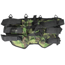 6+1 Paintball Harness Woodland
