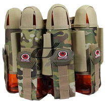 GI Sports Glide Paintball Harness 4+5 Multi-Cam