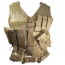 NcStar Tactical Vest Tan