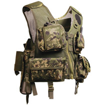 Tippmann Assault Paintball Vest Digi Camo