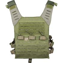 Valken Plate Carrier LC w Mag Pouches Olive