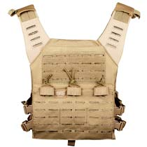 Valken Plate Carrier LC w Mag Pouches Tan