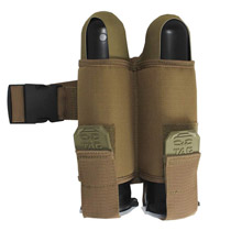 Valken Paintball Harness V-Tac 2 Pod Web Belt Tan