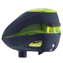 Dye Rotor R2 Paintball Loader Navy Lime