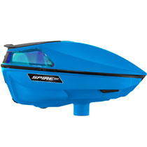 Virtue Spire III Paintball Loader Cyan Ice