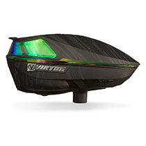 Virtue Spire 4 Paintball Loader Graphic Emerald