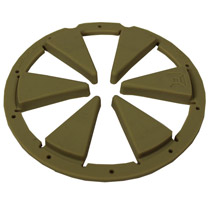 Exalt Feedgate for Dye Rotor Tan