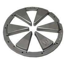 Exalt Feedgate for Dye Rotor Silver