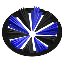 Virtue Crown 2.5 Rotor Speed Feed Blue