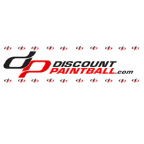 Discount Paintball Sticker 5 1/2 X 1 3/4