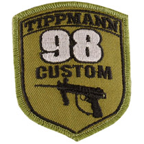 Tippmann 98 Paintball Custom Patch With Velcro
