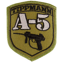 Tippmann A-5 Paintball Patch With Velcro